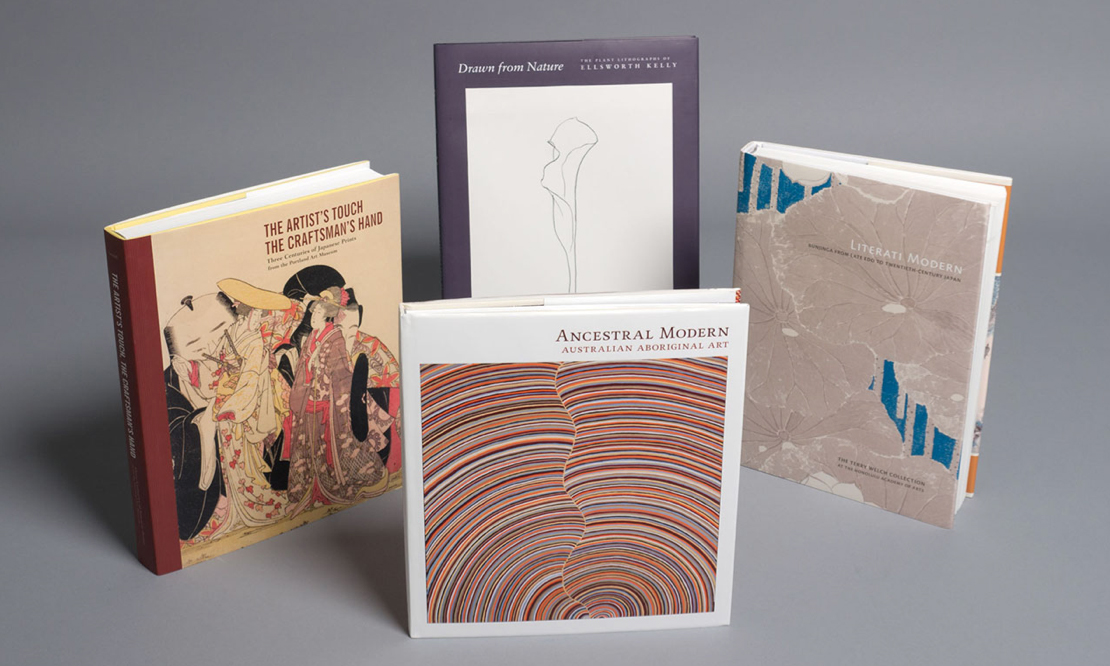collection of books designed by John Hubbard, principal photography for each book by iocolor, produced by Marquand Books for various museums. Photography by iocolor.