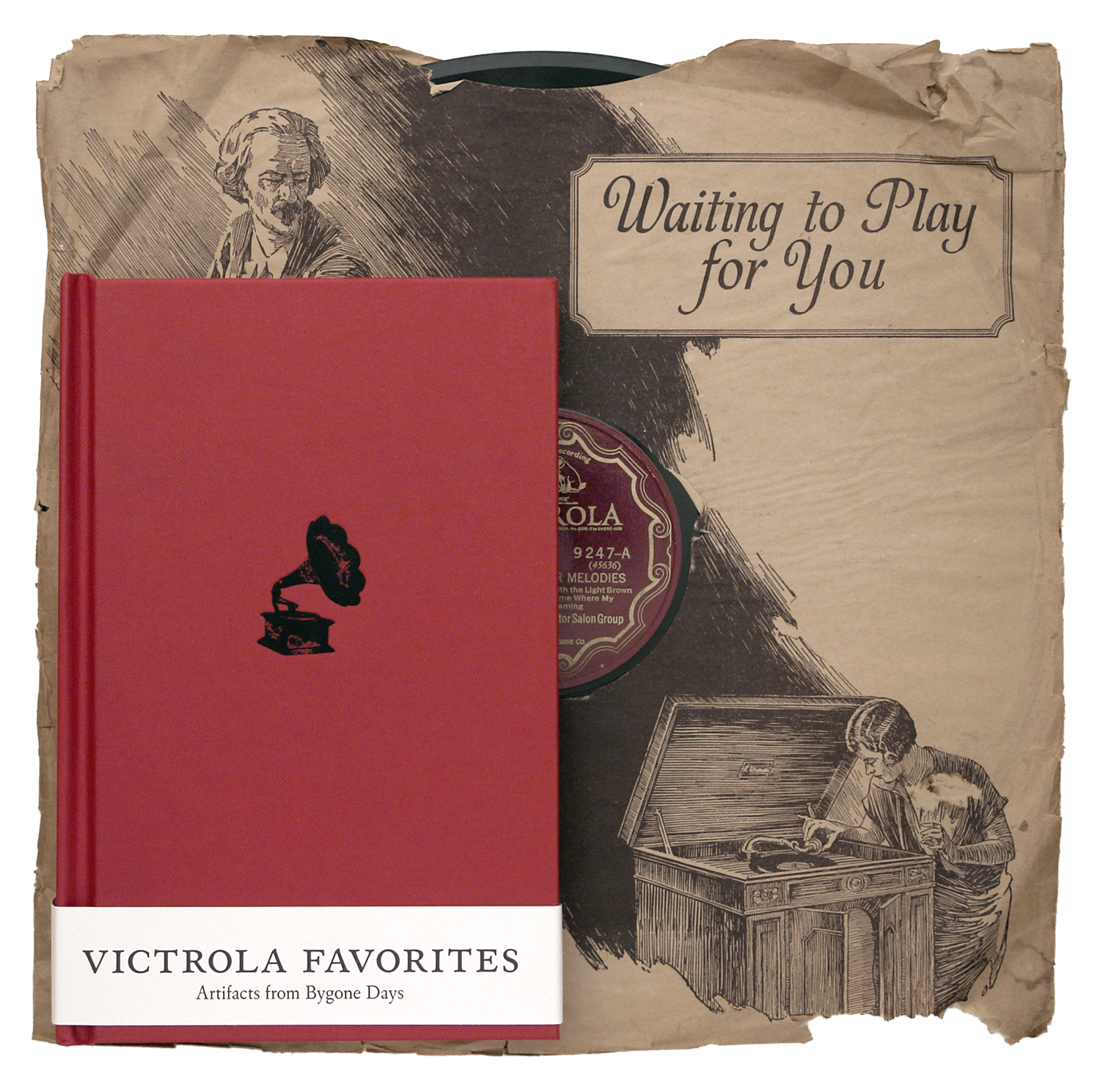 Victrola Favorites, Robert Millis and Jeffery Taylor, 144-page hardcover book with 2CDs, Dust-to-Digital, DTD-11. 2007 (12-inch 78 rpm not included)