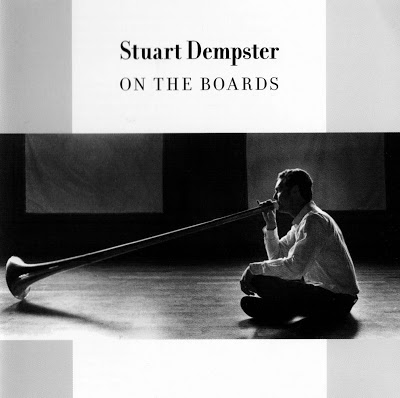 On the Boards, Stuart Dempster. CD, Anomalous Records, NOM 11. Photography by Dale Blindheim. 2001